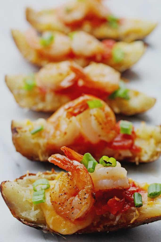 Shrimp Nacho Potato Skins 1 683x1024 - Shrimp Nacho Potato Skins
