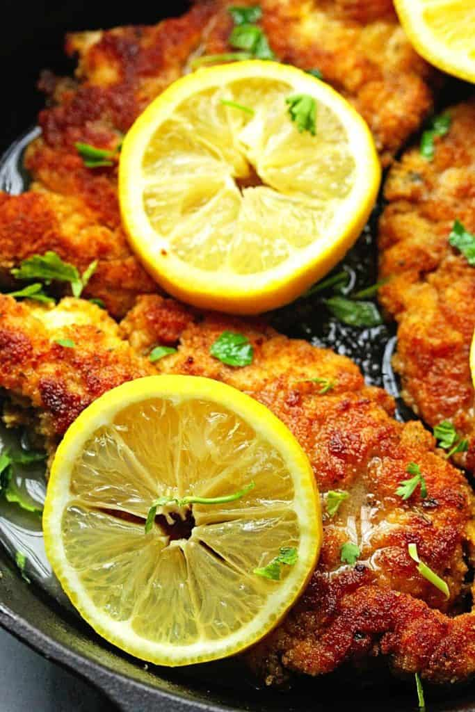 breaded chicken piccata 1 683x1024 - Lemon Chicken Piccata Recipe