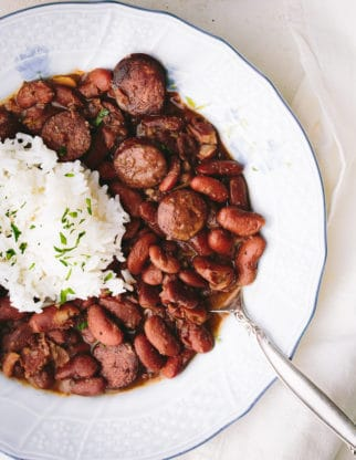 Cajun Red Beans And Rice Recipe 2 322x416 - The BEST Red Beans and Rice Recipe