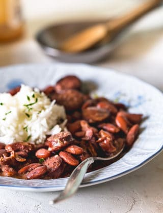 Cajun Red Beans And Rice Recipe 3 320x416 - The BEST Red Beans and Rice Recipe