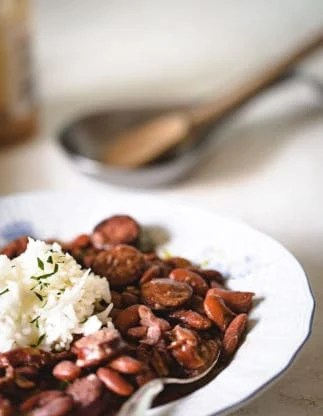 Cajun Red Beans and Rice Recipe 1 323x416 - The BEST Red Beans and Rice Recipe