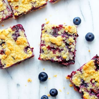 blueberry crumble bars 1 320x320 - Blueberry Crumble Bars