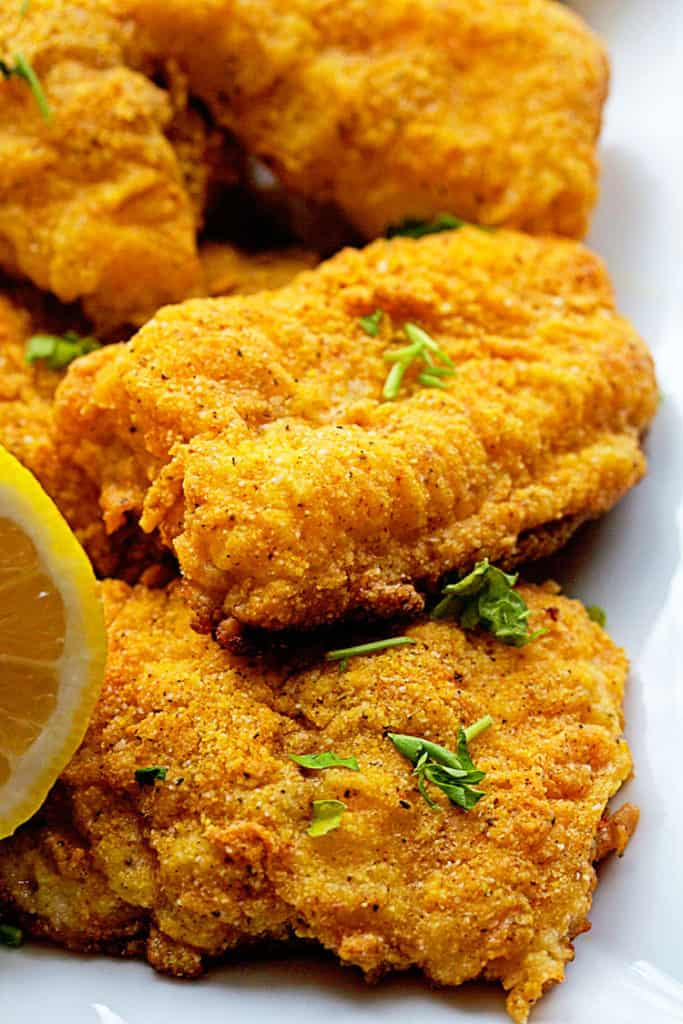 spicy oven fried catfish 3 683x1024 - Spicy Oven Fried Catfish (With How To Video)