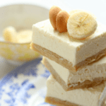 Banana Pudding Cheesecake Blondies | Grandbaby Cakes