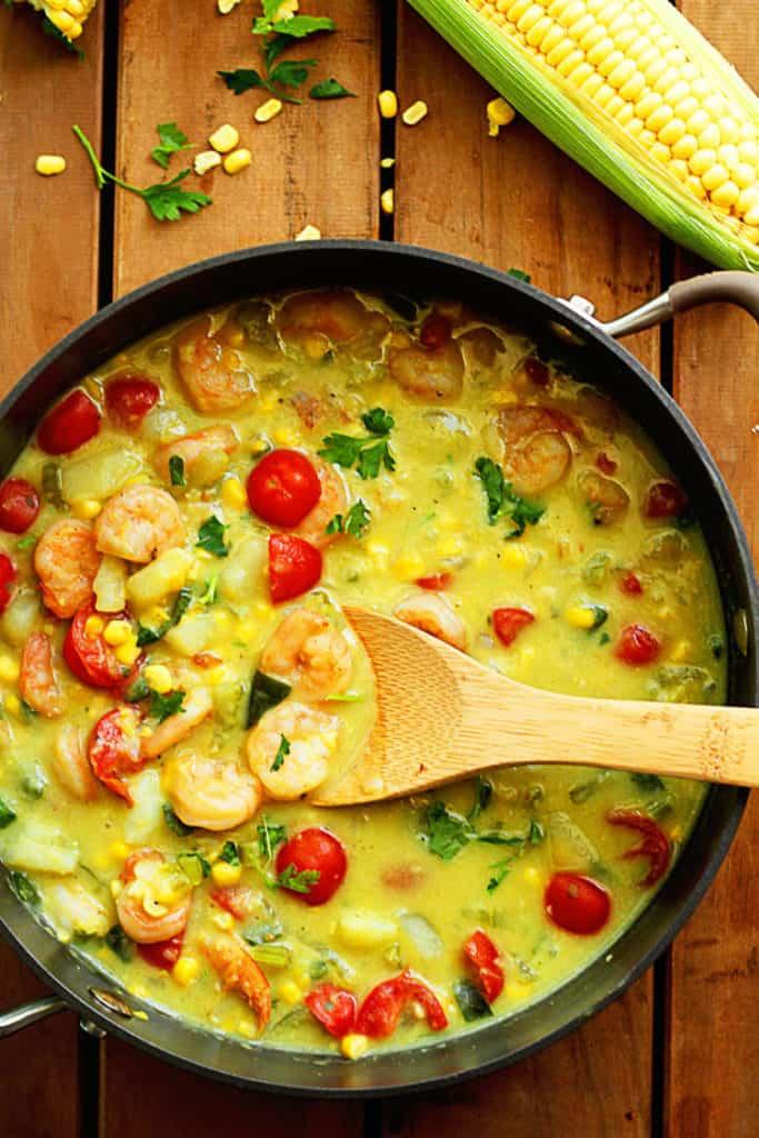 Shrimp and Corn Chowder 1 1 683x1024 - Shrimp and Corn Chowder