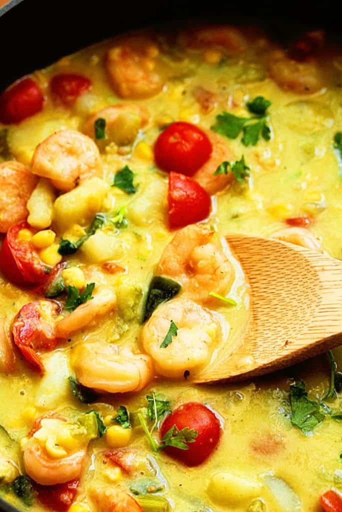 Shrimp and Corn Chowder 2 1 683x1024 - Shrimp and Corn Chowder