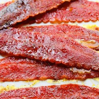 brown sugar baked turkey bacon 2 320x320 - Brown Sugar Baked Turkey Bacon