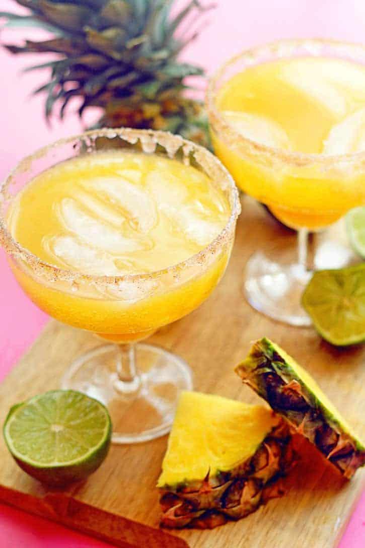 Pineapple Mocktail Margarita 1 - Pineapple Mocktail Margaritas