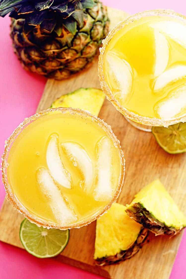 Pineapple Mocktail Margarita 3 - Pineapple Mocktail Margaritas