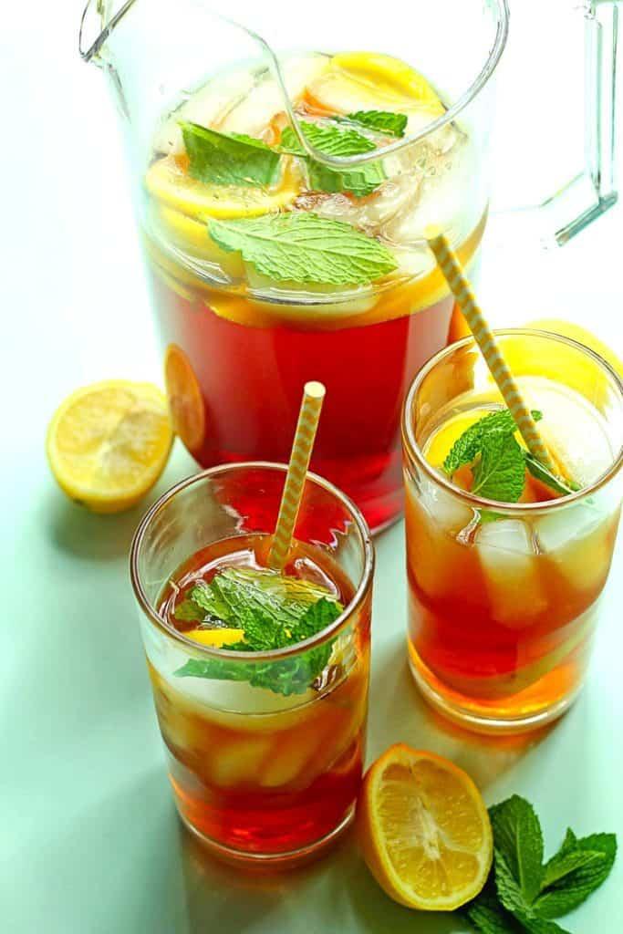 Southern Sweet Tea Recipe 1 683x1024 - Southern Sweet Tea Recipe