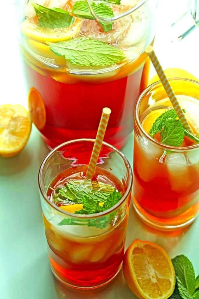 Southern Sweet Tea Recipe 3 683x1024 - Southern Sweet Tea Recipe