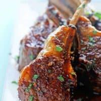 Balsamic Brown Sugar Lamb Chops 3 200x200 - Balsamic Brown Sugar Lamb Chops Recipe