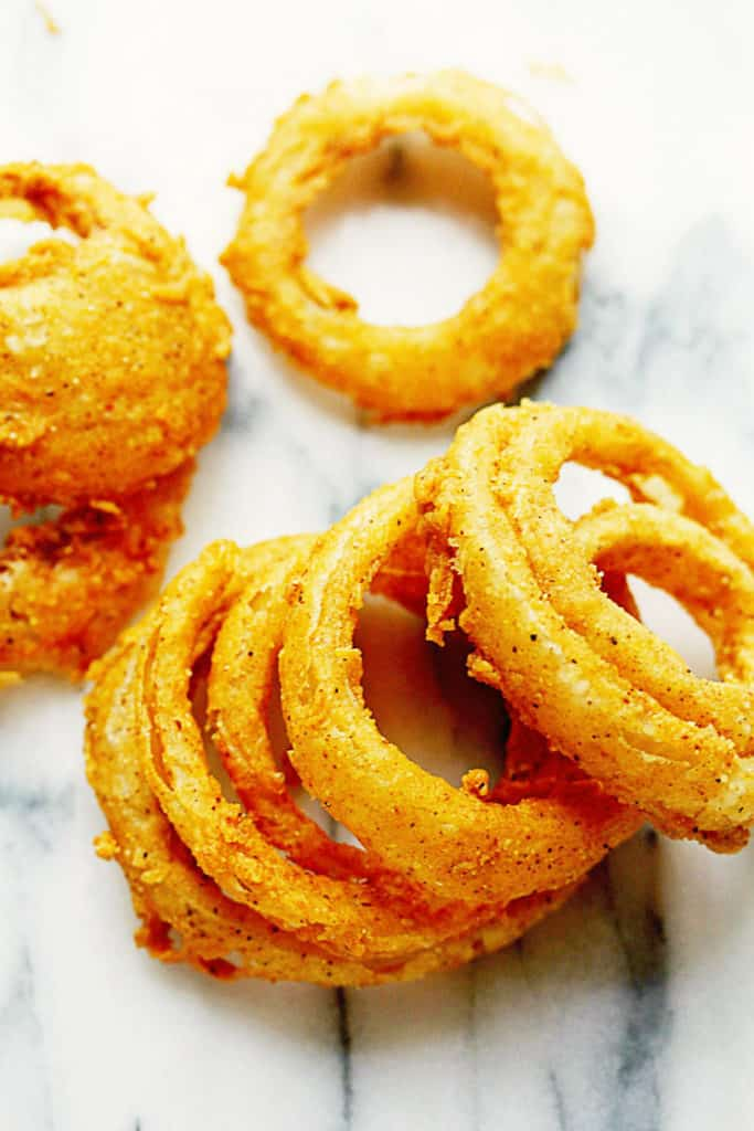 Crispy Fried Onion Rings 1 683x1024 - Fried Onion Rings (CRISPY AND DELISH!)