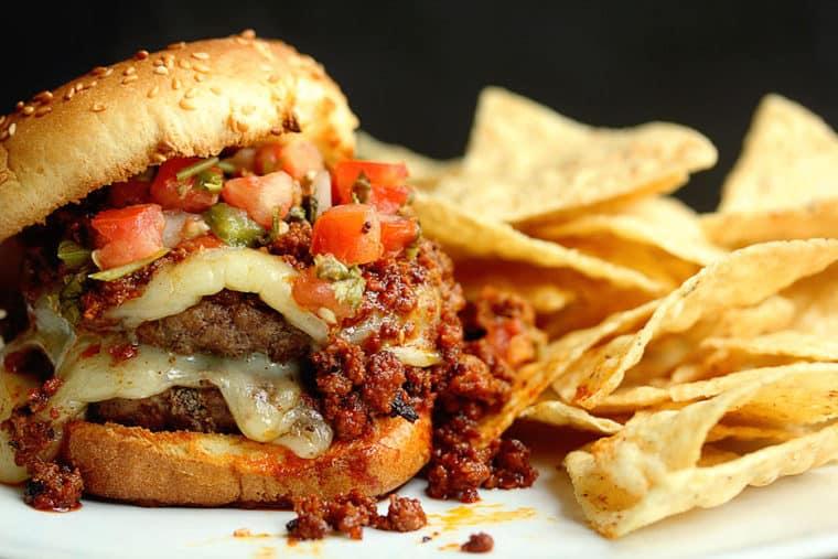 Latin Burger 1 1024x683 - The BEST Latin Burger Recipe