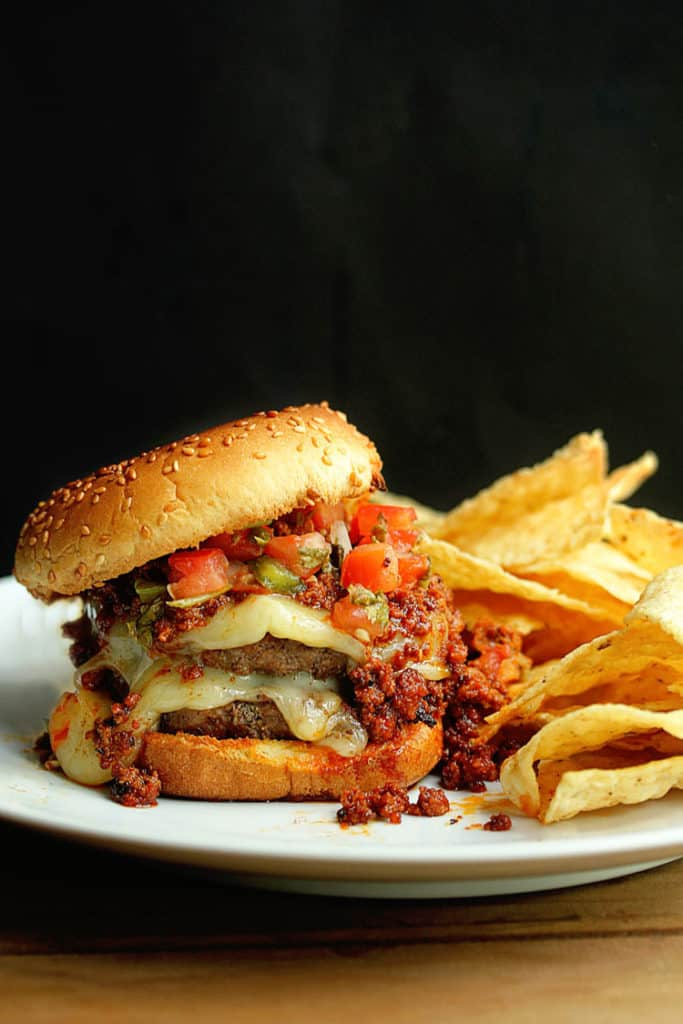 Latin Burger 2 683x1024 - The BEST Latin Burger Recipe