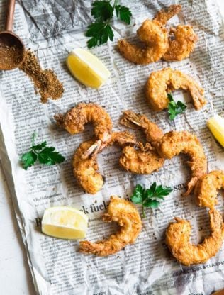 Fried Shrimp Recipe 1 316x416 - Fried Shrimp Recipe (How to Fry Shrimp)