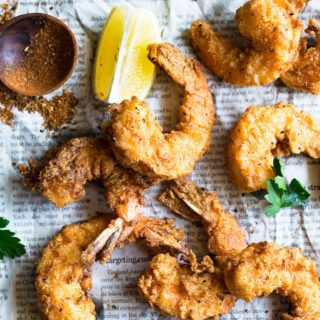 Fried Shrimp Recipe 2 320x320 - Fried Shrimp Recipe (How to Fry Shrimp)