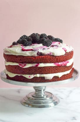 3 red velvet blackberry edited jan 2015 2 273x416 - Real Deal Southern Caramel Cake Recipe