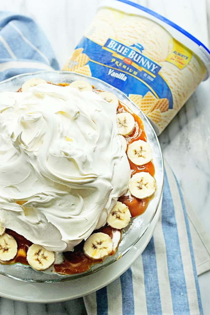 Frozen Banoffee Pie | Grandbaby Cakes