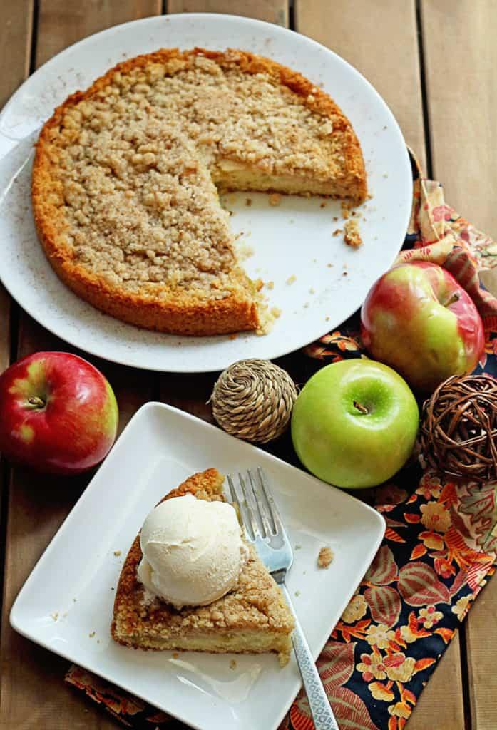 Maple Apple Cake | Grandbaby Cakes