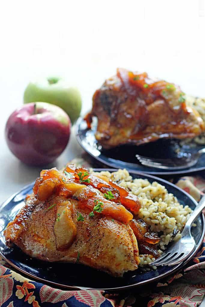 Apple Cider Glazed Chicken 2 683x1024 - Apple Cider Glazed Chicken