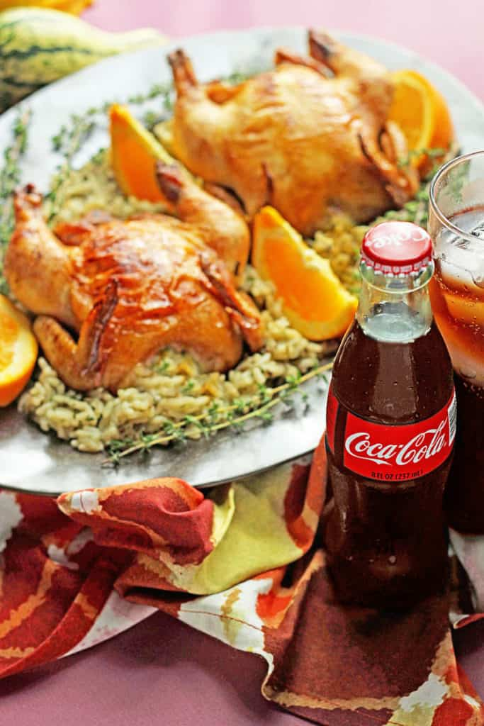 Coca Cola glazed cornish hen 1 683x1024 - Coca-Cola Glazed Cornish Hens