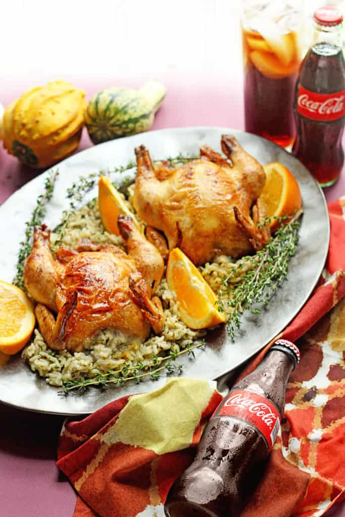 Coca Cola glazed cornish hen 6 683x1024 - Coca-Cola Glazed Cornish Hens