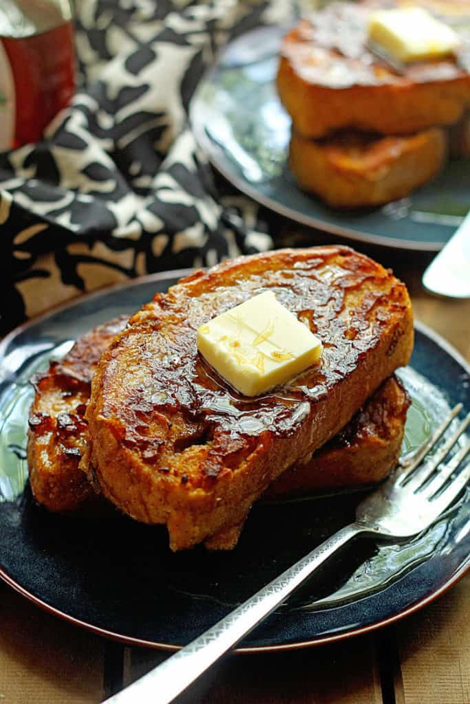 Pumpkin French Toast 2 683x1024 - Perfect Pumpkin Spice French Toast! The Ultimate Fall Breakfast!