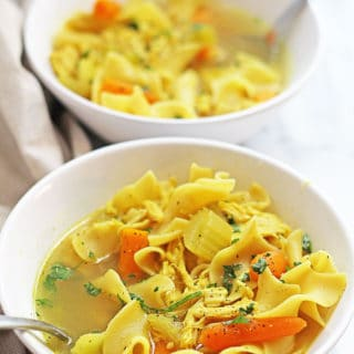 Slow Cooker Chicken Noodle Soup 3 320x320 - Slow Cooker Chicken Noodle Soup