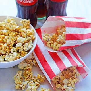 Coke Caramel Popcorn | Grandbaby Cakes