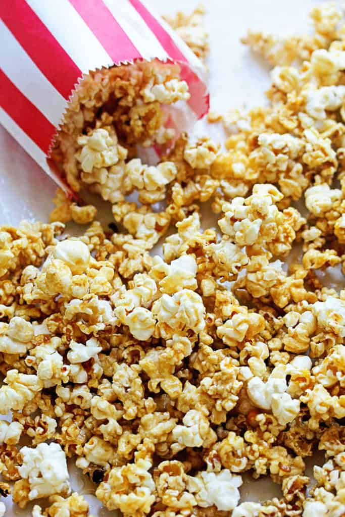 Coke and Popcorn - Caramel Popcorn Recipe
