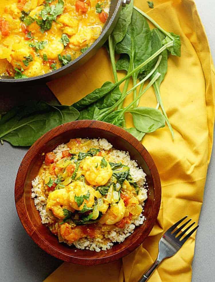 Light Curry Shrimp | Grandbaby Cakes