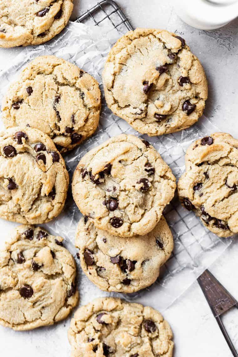 BEST Chewy Chocolate Chip Cookies Recipe 1 e1566169957960 - THE BEST Chewy Chocolate Chip Cookies Recipe Online (PLUS A VIDEO)!!
