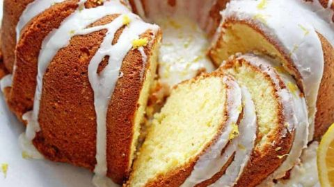 The Absolute ULTIMATE Lemon Pound Cake Recipe- The BEST Online!