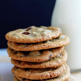Perfect Crispy Chocolate Chip Cookies Recipe | Grandbaby Cakes