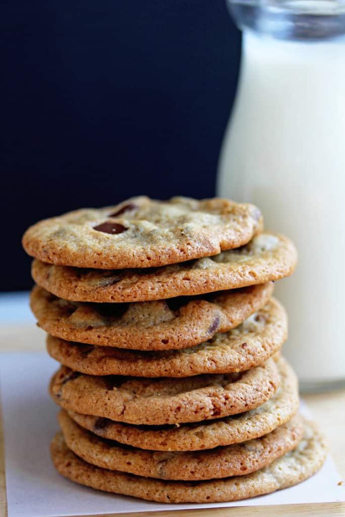 Perfect Crispy Chocolate Chip Cookies Recipe 1 683x1024 - Crispy Chocolate Chip Cookies Recipe