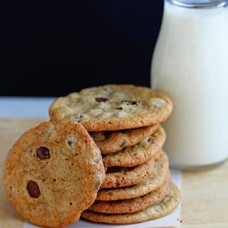 Perfect Crispy Chocolate Chip Cookies Recipe 2 320x320 - Crispy Chocolate Chip Cookies Recipe
