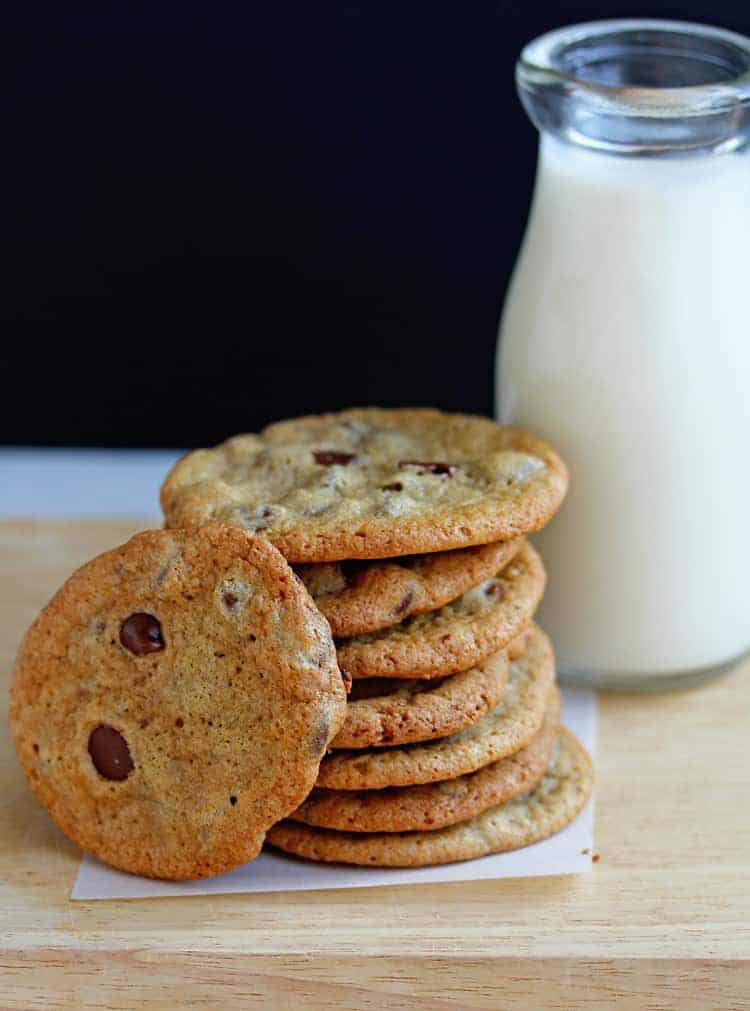 Perfect Crispy Chocolate Chip Cookies Recipe 2 - Crispy Chocolate Chip Cookies Recipe