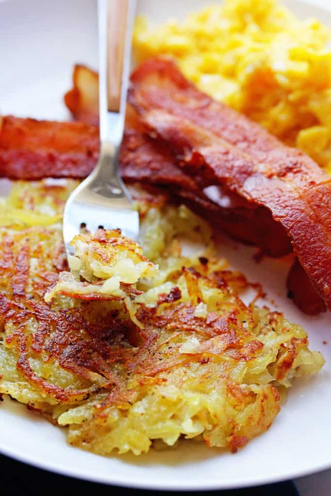 Perfect Hash Browns 2 683x1024 - Best Hash Browns Recipe (Just like the diner)!
