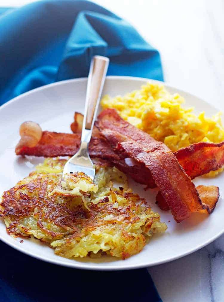 Perfect Hash Browns 4 - Best Hash Browns Recipe (Just like the diner)!