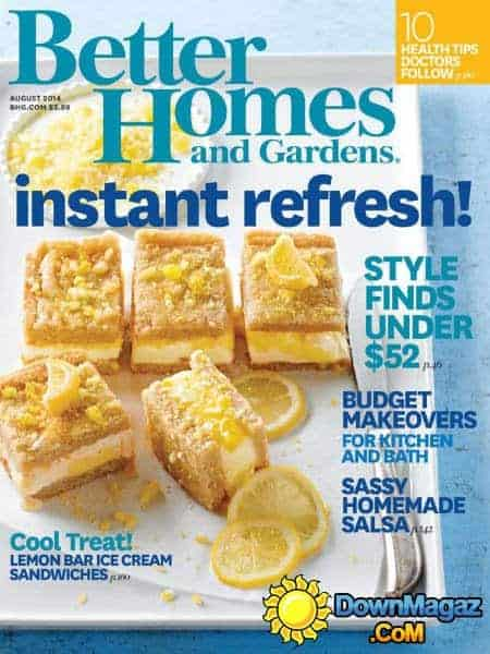 bhg aug 2014 cover - Press