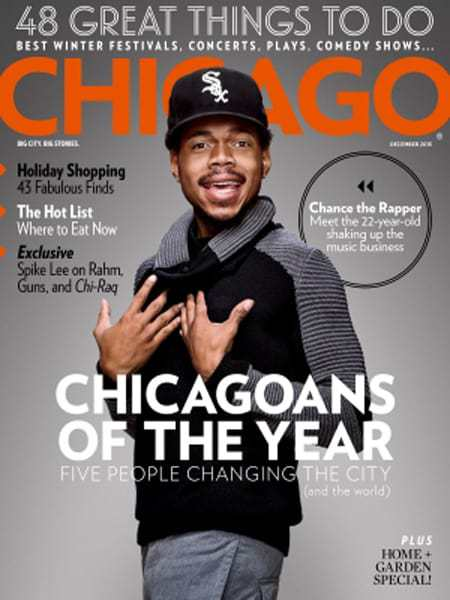 chicago magazine december 2015 - Press