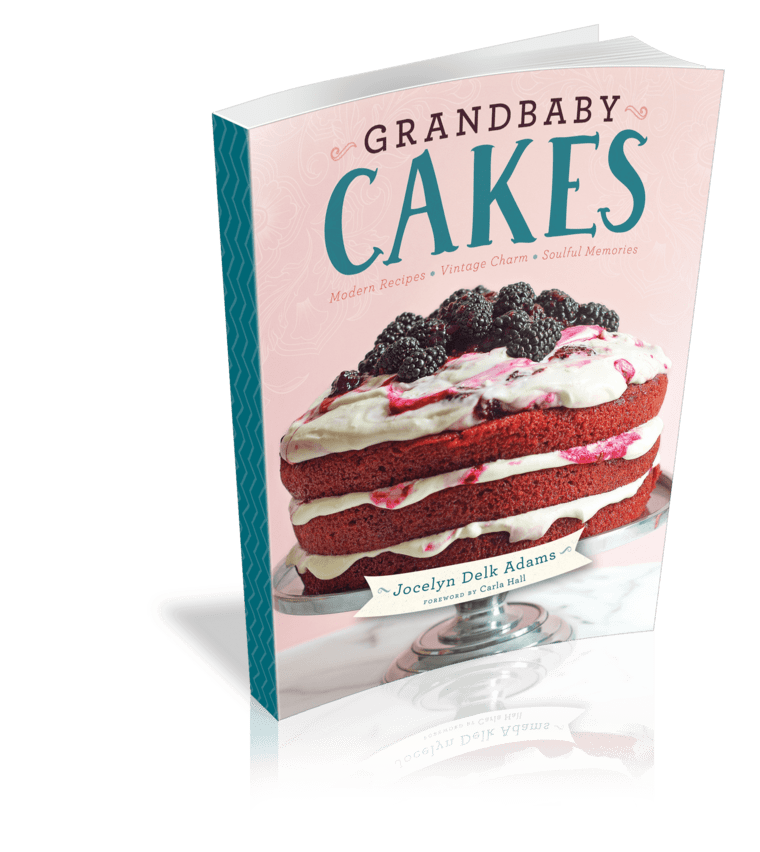 Grandbaby Cakes Cookbook Cover by Jocelyn Delk Adams