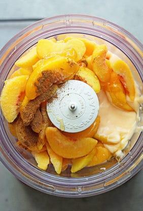 Easy Peach Frozen Yogurt 1 282x416 - Easy Peach Frozen Yogurt