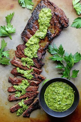 Marinated Skirt Steak with Chimichurri 2 277x416 - 20+ BEST Labor Day Recipes to Make Your Holiday a Hit!!