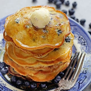 Easy Blueberry Pancakes 1 320x320 - Blueberry Pancakes Recipe
