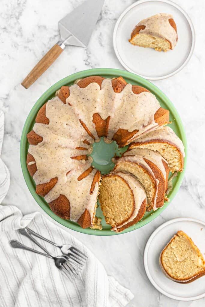 Brown Sugar Pound Cake 4 683x1024 - The Most Luscious Decadent Brown Sugar Pound Cake Recipe!