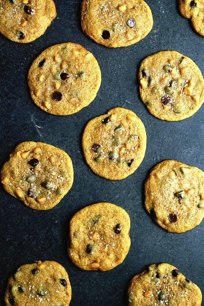 Pumpkin Chocolate Chip Cookies 2 683x1024 - Pumpkin Chocolate Chip Cookies