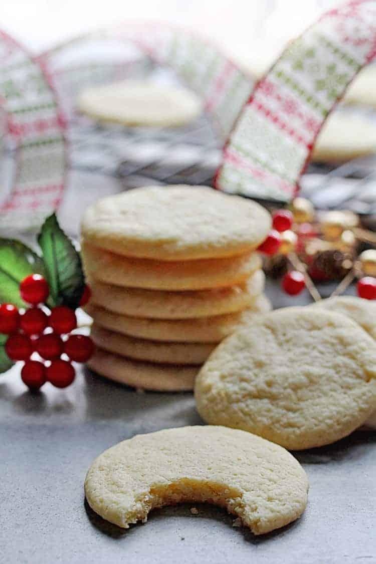Butter Ricotta Cookies 1 - Butter Ricotta Cookies Recipe
