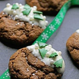 White Chocolate Ginger Cookies Recipe | Grandbaby Cakes